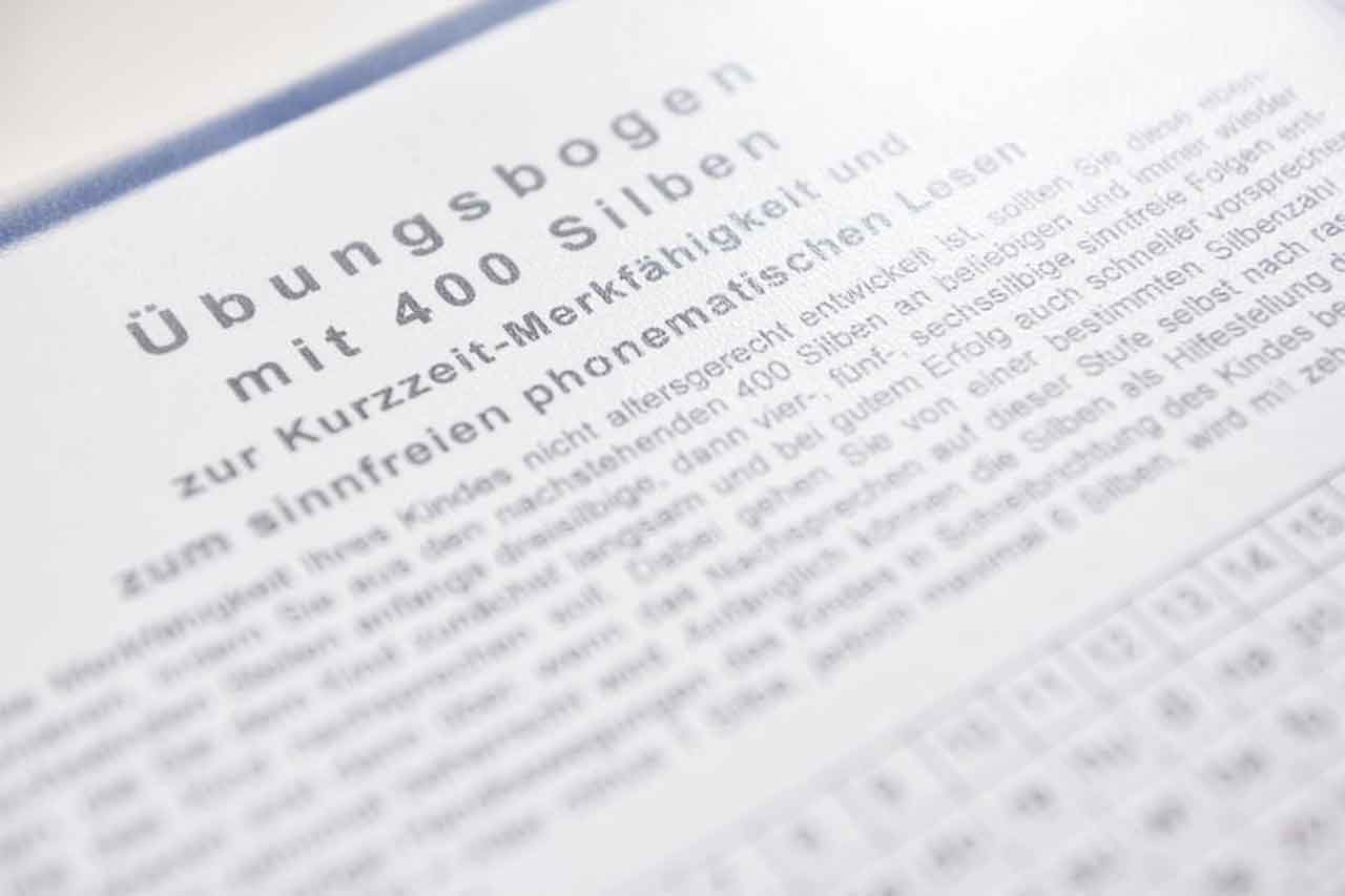 Diagnose von LRS, Felicitas Göbel